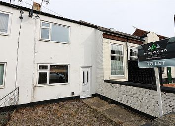 Thumbnail 3 bed terraced house to rent in North Wingfield Road, Grassmoor, Chesterfield, Derbyshire