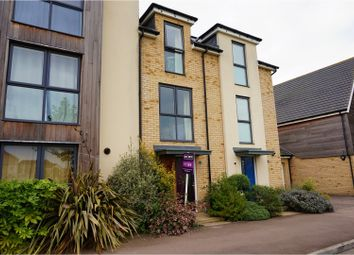 Thumbnail 3 bed terraced house for sale in Mosquito Road, Upper Cambourne, Cambridge