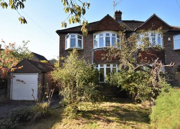 Thumbnail 4 bed semi-detached house for sale in Weybourne Road, Farnham