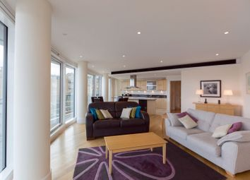 Thumbnail 3 bed flat to rent in Putney Wharf Tower, Putney
