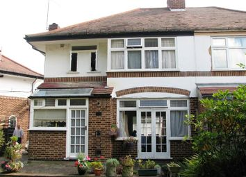 Thumbnail 3 bed semi-detached house for sale in Delamere Road, London