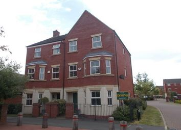 Thumbnail 4 bedroom semi-detached house to rent in Alamein Way, Lichfield