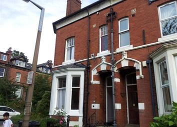 Thumbnail 10 bed terraced house to rent in Regent Park Avenue, Hyde Park, Leeds