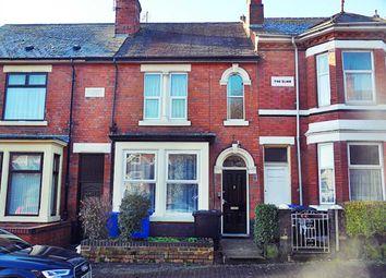 Thumbnail 5 bed terraced house for sale in Mount Carmel Street, Derby