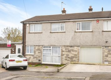 Thumbnail 3 bedroom semi-detached house for sale in Gibbonsdown Close, Barry