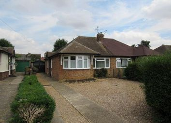 Thumbnail 2 bed semi-detached bungalow to rent in Chapel Close, Toddington, Dunstable