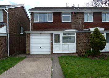 Thumbnail 3 bed semi-detached house to rent in Hunstanton Avenue, Harborne, Birmingham