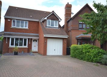 Thumbnail 4 bed detached house for sale in Cutlers Close St. Michaels Mead, Bishops Stortford