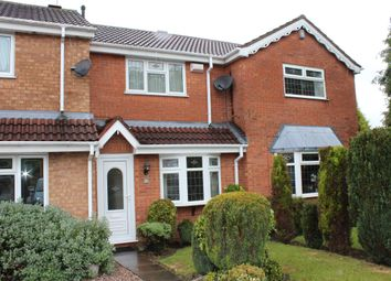 Thumbnail 2 bed terraced house to rent in Seaton Close, Wednesfield, Wolverhampton