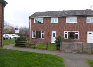 Thumbnail 3 bed semi-detached house to rent in Wallis Close, Draycott, Derby