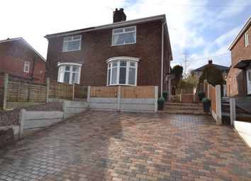 Thumbnail 2 bed semi-detached house for sale in Tudor Close, Penkhull, Stoke-On-Trent