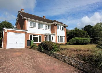 Thumbnail 4 bed detached house to rent in School Lane, Exeter