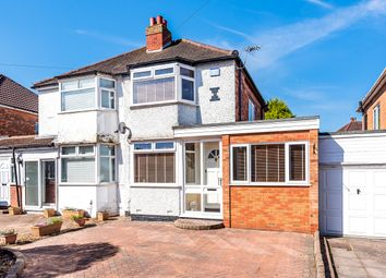 Thumbnail 2 bed semi-detached house for sale in Summerfield Road, Solihull