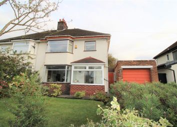 Thumbnail Semi-detached house for sale in Boundary Drive, Crosby, Liverpool