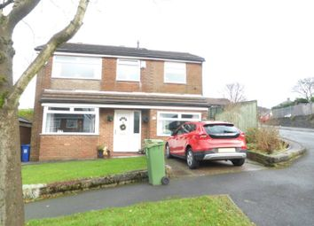 Thumbnail 4 bed detached house for sale in Woodville Road, Stalybridge