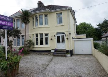 Thumbnail 5 bed semi-detached house for sale in Cromwell Road, St. Austell