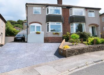 Thumbnail 3 bed semi-detached house for sale in Nab Wood Road, Shipley