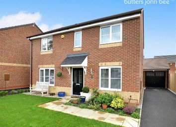 Thumbnail 4 bedroom detached house for sale in Blundell Drive, Stone, Staffordshire