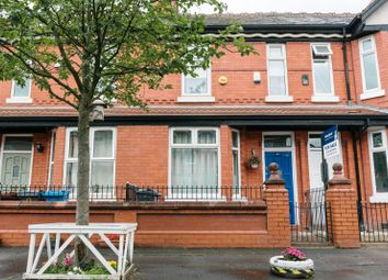 Thumbnail 3 bed terraced house for sale in Regent Avenue, Manchester
