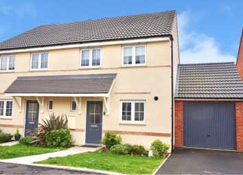 Thumbnail 3 bed semi-detached house for sale in Oswalds Close, Longford, Gloucester