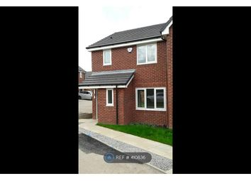Thumbnail 3 bed semi-detached house to rent in Broomhall Drive, Crewe