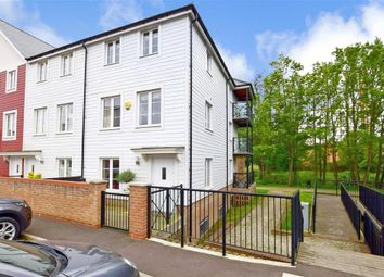 Thumbnail 4 bed end terrace house for sale in Redbud Road, Tonbridge, Kent