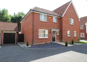 Thumbnail 3 bed semi-detached house for sale in Rowan Close, Claydon, Ipswich, Suffolk