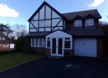 Thumbnail 4 bed detached house to rent in Meadow Oak Drive, Woolton, Liverpool