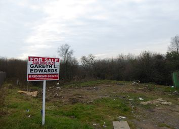 Thumbnail Land for sale in Building Plots Cwm Coed, Bettws, Bridgend.