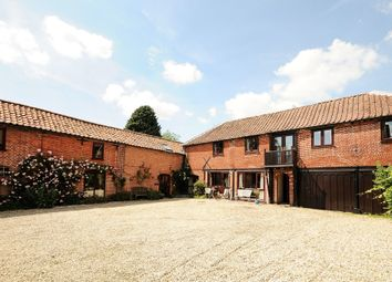Thumbnail 5 bedroom barn conversion for sale in The Green, East Rudham, King's Lynn