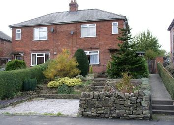 Thumbnail 2 bed semi-detached house for sale in High Road, South Wingfield, Alfreton