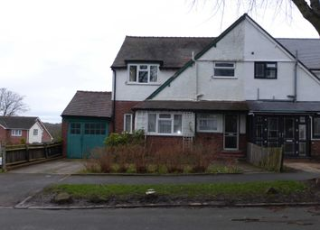 Thumbnail 3 bedroom semi-detached house to rent in Southam Road, Hall Green, Birmingham