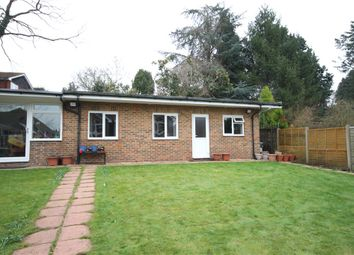 Thumbnail 1 bed bungalow to rent in Bridge Road, Bagshot, Surrey