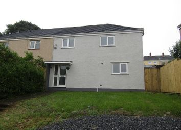 Thumbnail 3 bed semi-detached house to rent in Cilgerran Place, Winch Wen, Swansea, City And County Of Swansea.