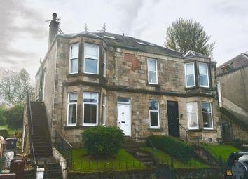 Thumbnail 3 bed flat for sale in Brachelston Street, Greenock