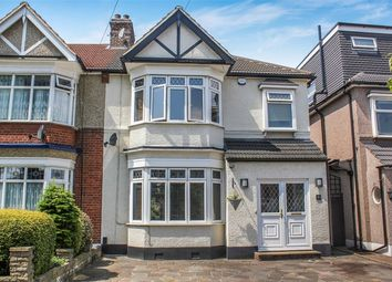 Thumbnail 3 bed semi-detached house for sale in Hillview Crescent, Ilford, Essex