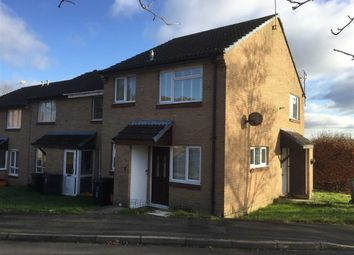 Thumbnail 1 bed end terrace house for sale in Longstock Court, Eastleaze, Swindon