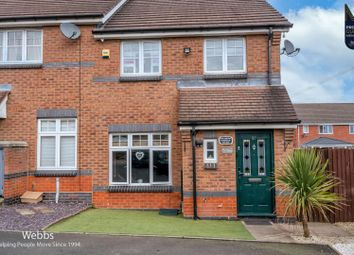 Foxes Rake, Cannock WS11. 3 bed end terrace house for sale