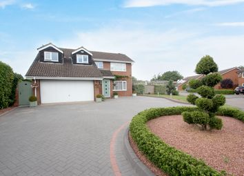 Thumbnail 5 bed detached house for sale in Whitefield Close, Westwood Heath, Coventry