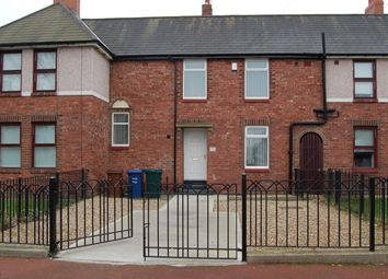 Thumbnail 2 bed terraced house to rent in Sandy Crescent, Walker, Newcastle Upon Tyne