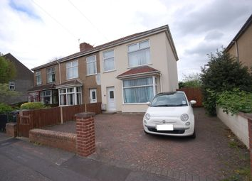 Thumbnail 3 bedroom end terrace house for sale in Lodge Road, Kingswood, Bristol