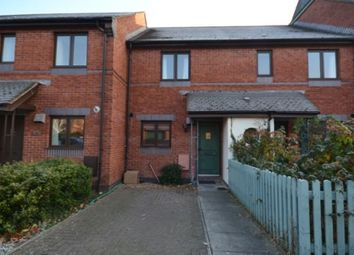 Thumbnail 2 bed terraced house to rent in Chandlers Walk, Exeter