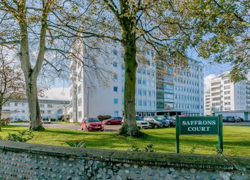 Thumbnail 3 bedroom flat for sale in Saffrons Court, Compton Place Road, Eastbourne, East Sussex