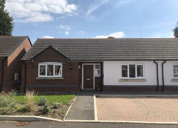 Thumbnail 2 bed semi-detached bungalow for sale in Highfield Close, Swynnerton, Stone