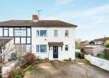 Thumbnail 3 bedroom semi-detached house for sale in Downs Road, Didcot