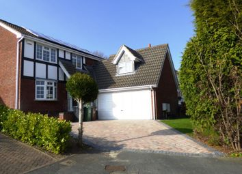 Thumbnail 5 bed detached house for sale in Montague Drive, Loughborough
