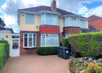 Thumbnail 3 bed semi-detached house for sale in Tessall Lane, Rednal, Birmingham