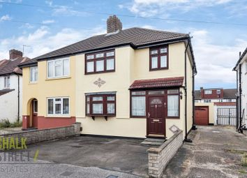 Thumbnail 3 bed semi-detached house for sale in Windermere Avenue, Elm Park