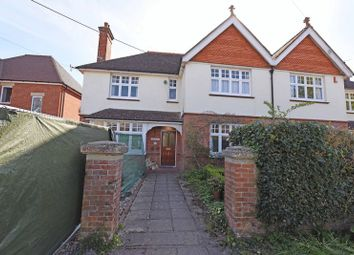 Thumbnail 4 bed semi-detached house for sale in St. Johns Road, Mortimer Common, Reading