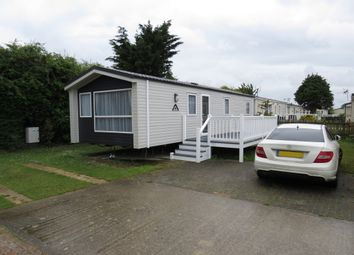 Thumbnail 3 bed mobile/park home for sale in Manor Road, Hayling Island